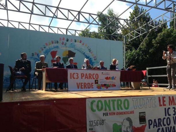 manifestazione 16-09-2013 IC3 Parco Verde