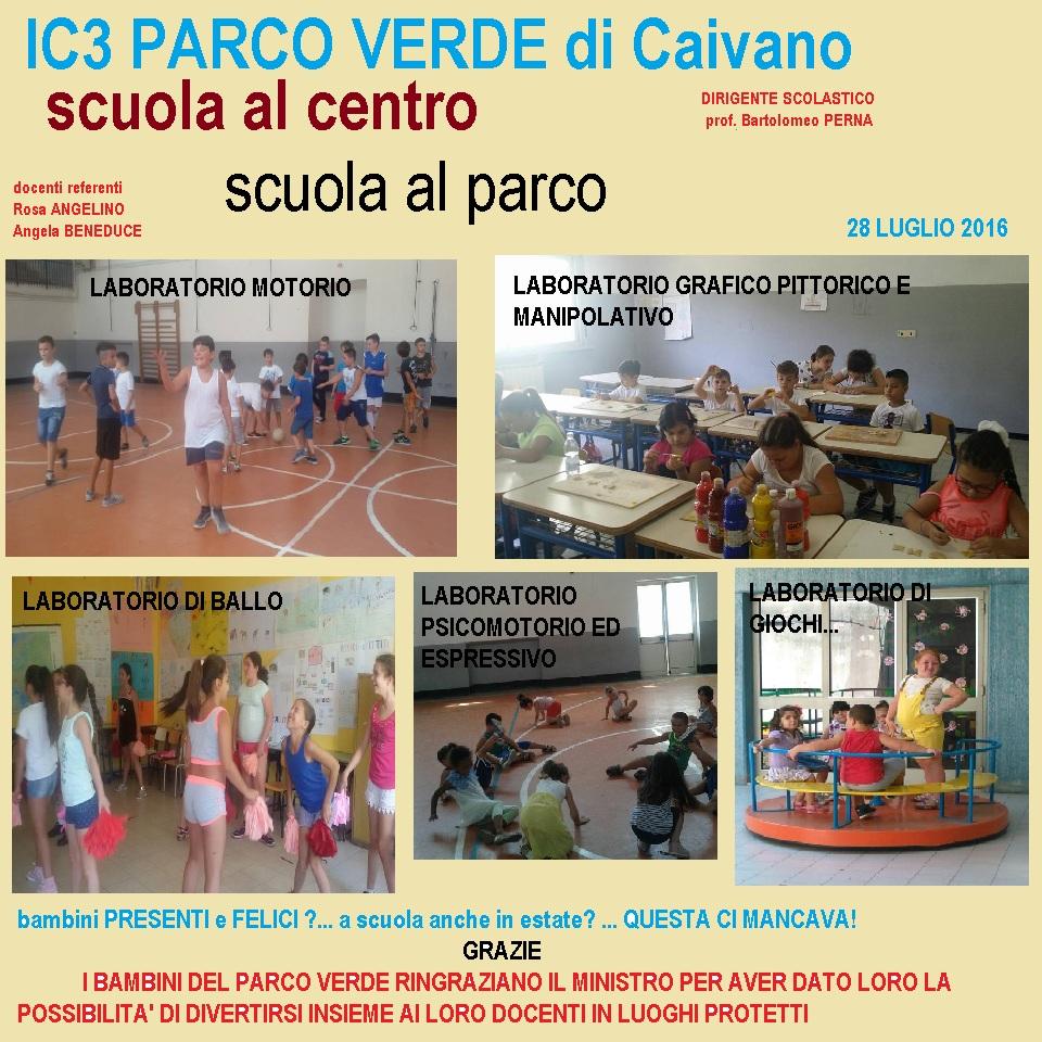 progetto scuola al centro